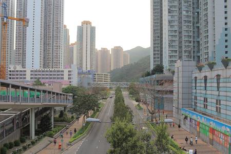 tong: Tong Ming Street , tseung kwan O Editorial