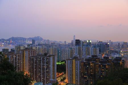 icc: kwun tong district view Hong kong