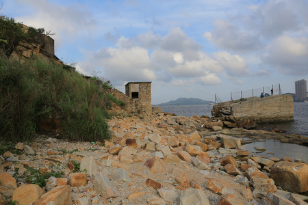 the place is important: Lei Yue Mon was a important stone mine in hongkong, now it become a famous hiking place