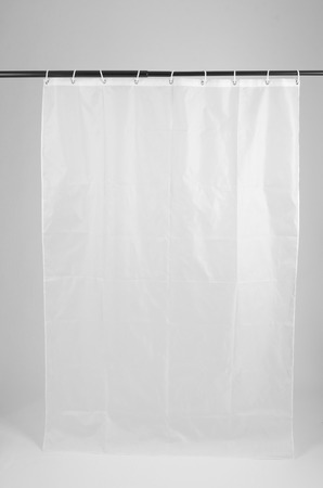 shower curtain with white background 版權商用圖片 - 41040117