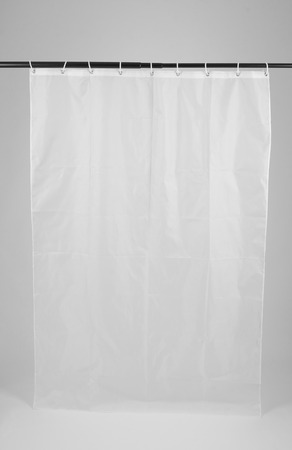 shower curtain with white background
