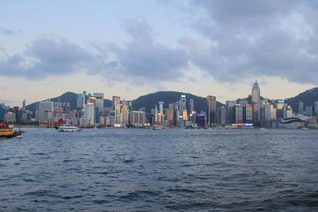 hong kong harbour: the eastern of hong kong harbour
