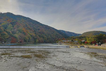 aisa: travel to Arashiyama mountain area, kyoto