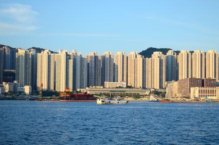 tong: the Yau Tong, Hong Kong at day time