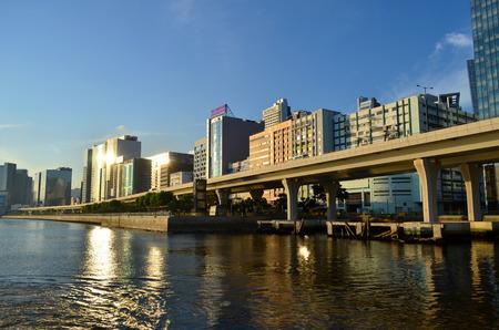 Handel, Wirtschaft und Industriegebiet in hong kong Editorial