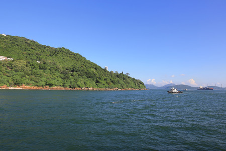 the Sulphur Channel at the  hong kong
