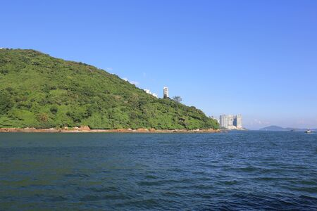 inshore: the Sulphur Channel at the  hong kong