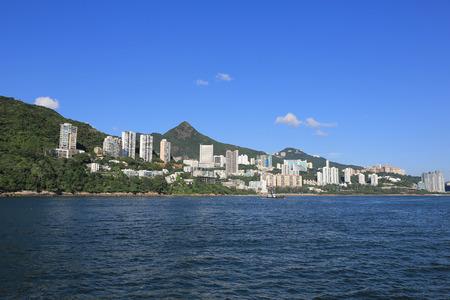 aisa: the hong kong, cyberport at ship view Stock Photo