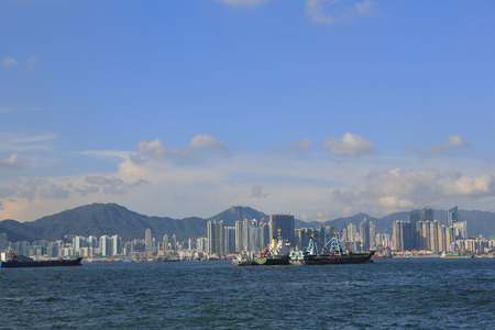 kowloon: the kowloon side of Hong Kong harbour