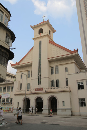 shek: Church at kowloon side  ,Shek Kip Mei
