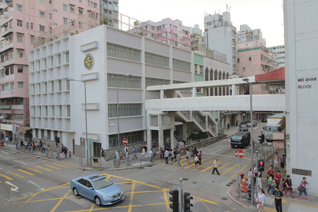 shek: Shek Kip Mei St, highway at hong kong