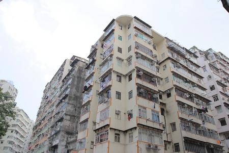 shek: the Tong lau old house at hong kong , Shek Kip Mei