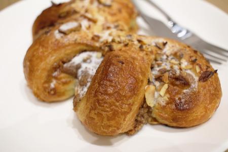 hazel nut: the sweet  danish of hazel nut claw