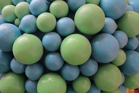 sugarcoat: the Mixed colorful fruit bonbon close up