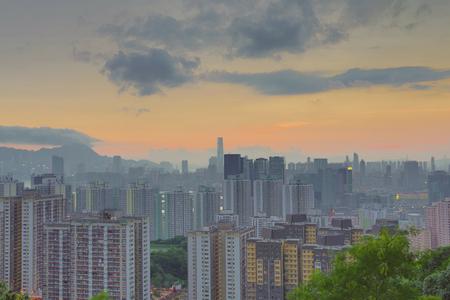 tong: the kwun tong district view Hong kong Stock Photo