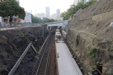 intercity: the hong kong railway of INTERCITY THROUGH TRAIN