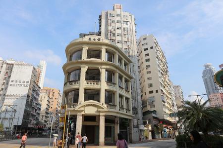 uptown: the Tong lau old house at hong kong