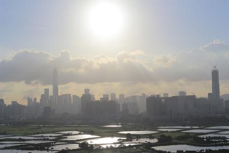 rural development: the Ma Tso Lung at North East New Territories, Hong Kong