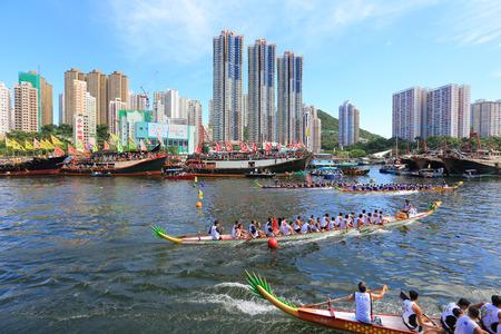 bateau de course: Racing Aberdeen Dragon Boat �ditoriale