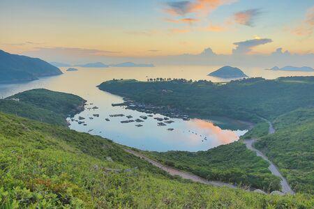 uprise: the  Po Toi O at morning, Hong Kong