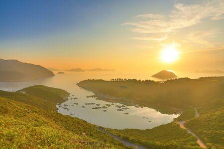 dawning: the  Po Toi O at morning, Hong Kong