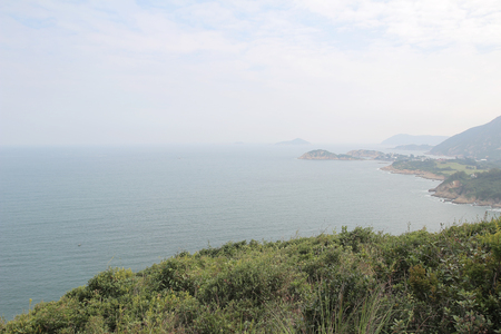 shek: the view of Shek O from Pottinger Peak Country Trail
