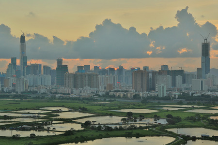 wetland conservation: the Ma Tso Lung at North East New Territories, Hong Kong