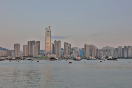 rambler: the Sunset at Rambler Channel, Hong Kong