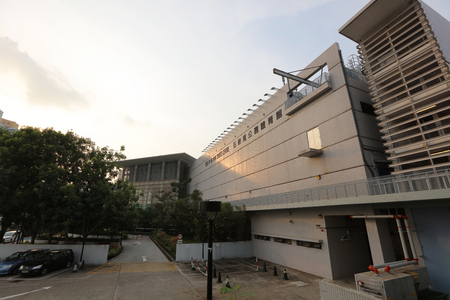 kowloon: the Shek Kip Mei sport center at kowloon Editorial