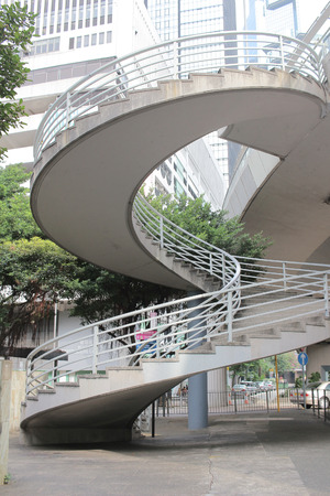 stepping stone: the Hong Kong architecture at day time