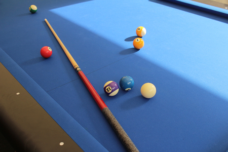 snooker rooms: billiard and tenis table details. at the event