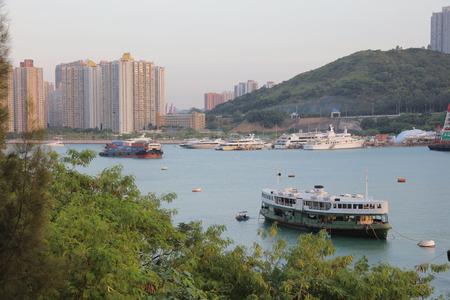 ting: Ting Kau view of Tsing Yi