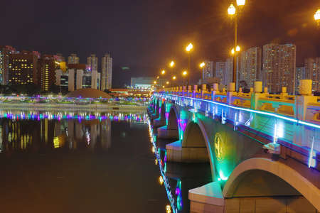 suspenso: the Festive Lighting in Sha Tin hk