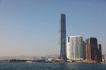 kowloon: the West Kowloon. Hong Kong. China