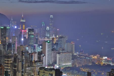sir: sunset view of Hong Kong at Sir Cecils Ride, Braemar Hill