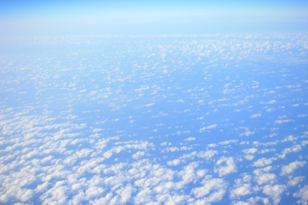 are taken: the Blue Cloud was taken on a plane for background