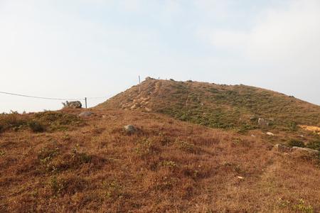 road and path through: Yuen Tsuen Ancient Trail at hong kong