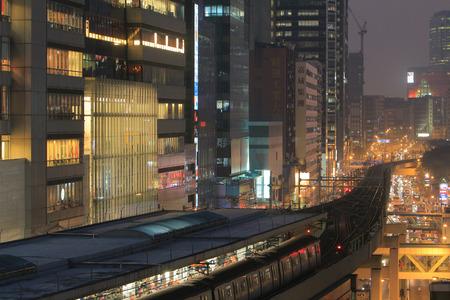 tong: the kwun tong district near the subway station