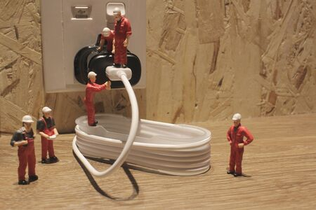 communications tools: the Miniature people Network Engineers At Work