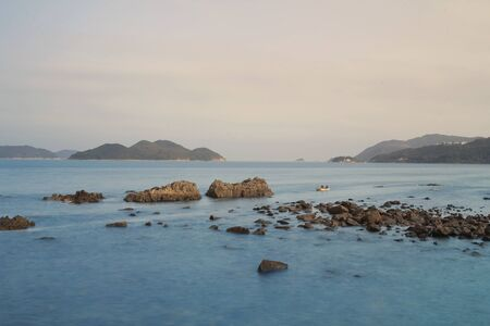 local landmark: the clear water bay sai kung at hong kong Stock Photo