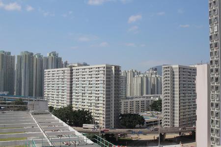 hung: public house at Choi Hung and Ping Shek Stock Photo