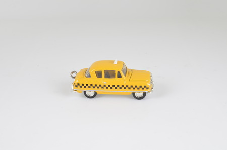 yellow cab: the new york yellow cab taxi toy car