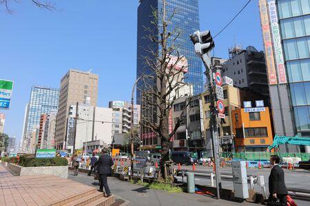 harajuku: street at Shinjuku, a major commercial and administrative center
