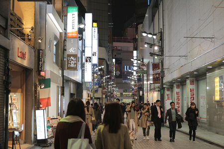 night vision: the tokyo Shinjuku Night vision at 2016 Editorial