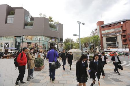 referred: Omote sando street sometimes referred to as Tokyo Editorial