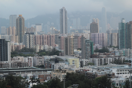 icc: the Checker board Hill view of kowloon