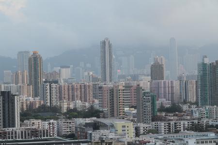 checker board: the Checker board Hill view of kowloon