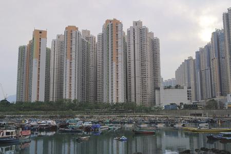 city park boat house: the Junk Bay, 2016 spring hong kong