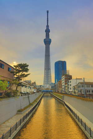 oshiage: the highest free-standing structure in Japan Editorial