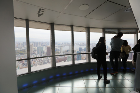 sight seeing: the Sight seeing from tokyo tower